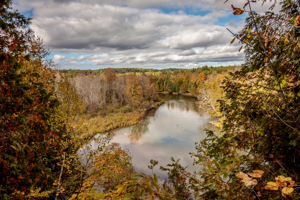 Manistee River Overlook