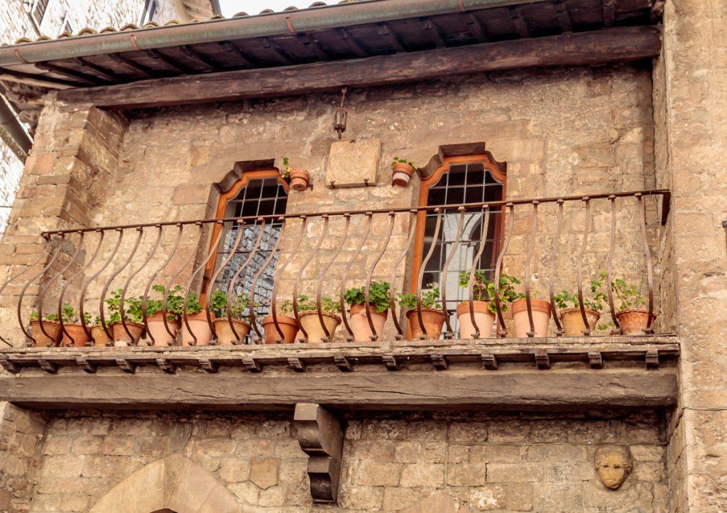 Pots on Balcony