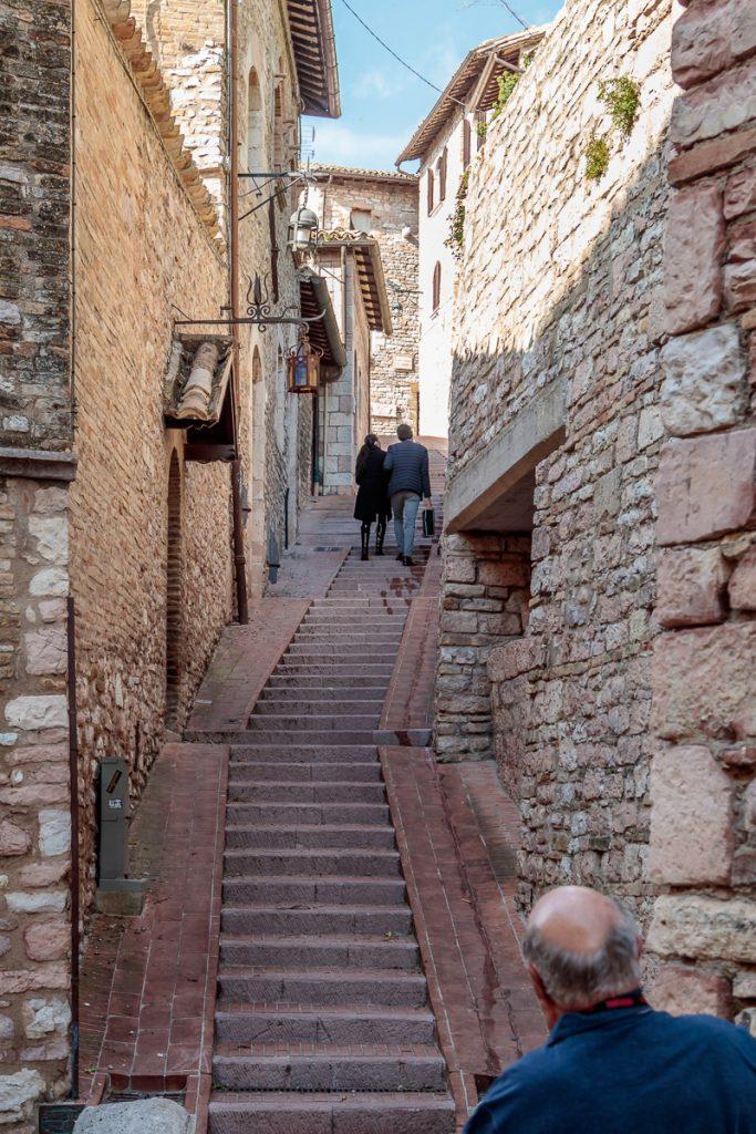 Steep Street of Stairs