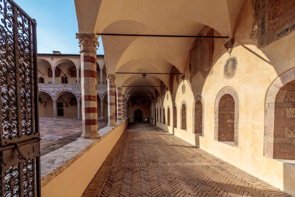 Along Interior Courtyard