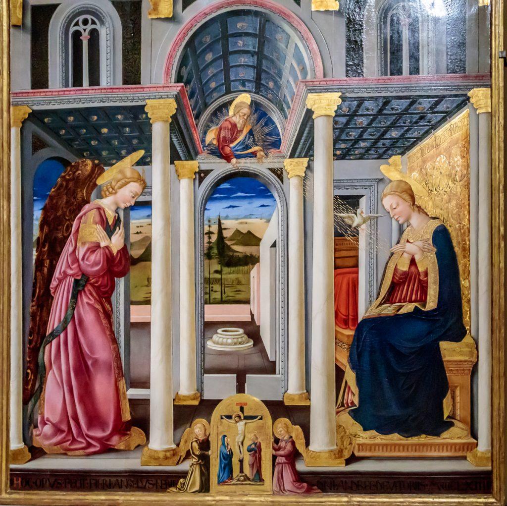 Annunciation, Neri di Bicci