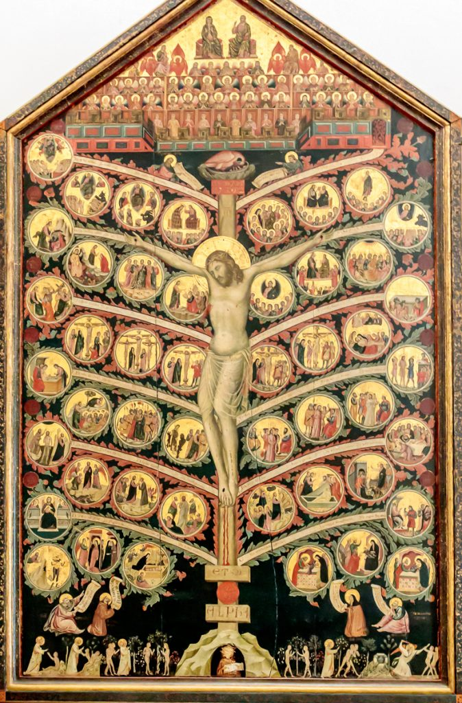 Tree of Life -Pacino di Bonaguida (1305-10)