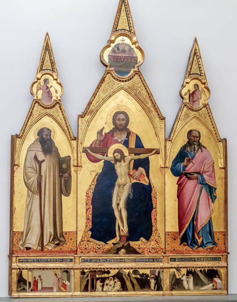 The Trinity – Nardo di Cione (1365)