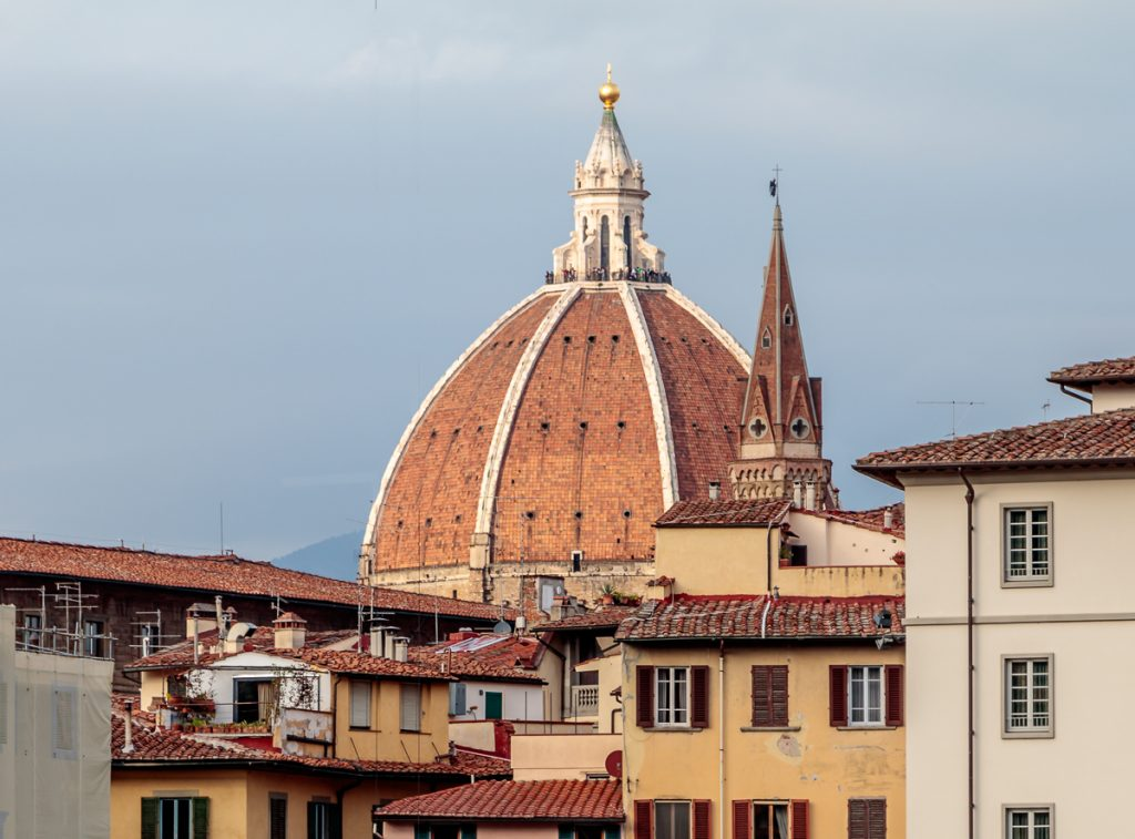 View of Duomo Dome