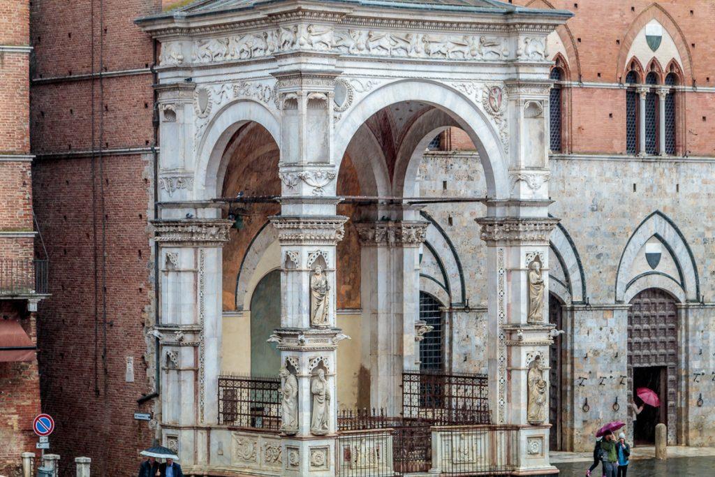 Entrance to Palazzo Pubblico