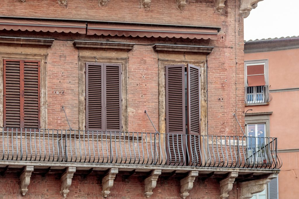 Balcony in the Piazza