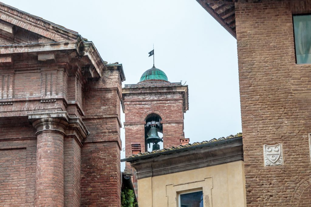Bell Tower just beyond Chiesa di San Cristoforo