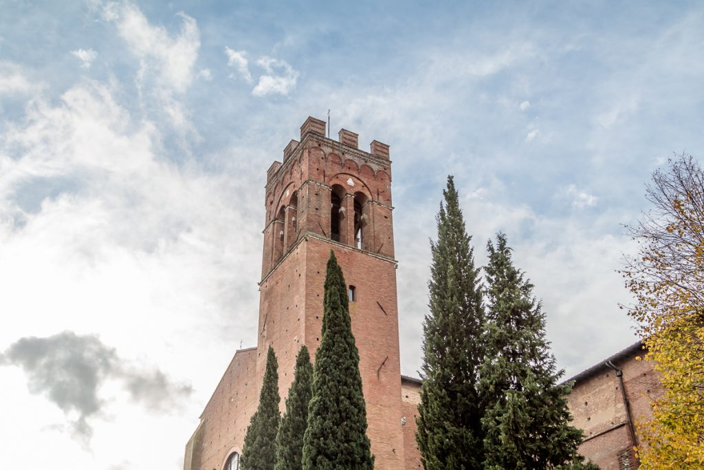 Tower of Basilica Cateriniana San Domenico