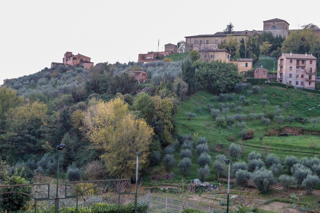 View from Piazzetta Artemio Franchi