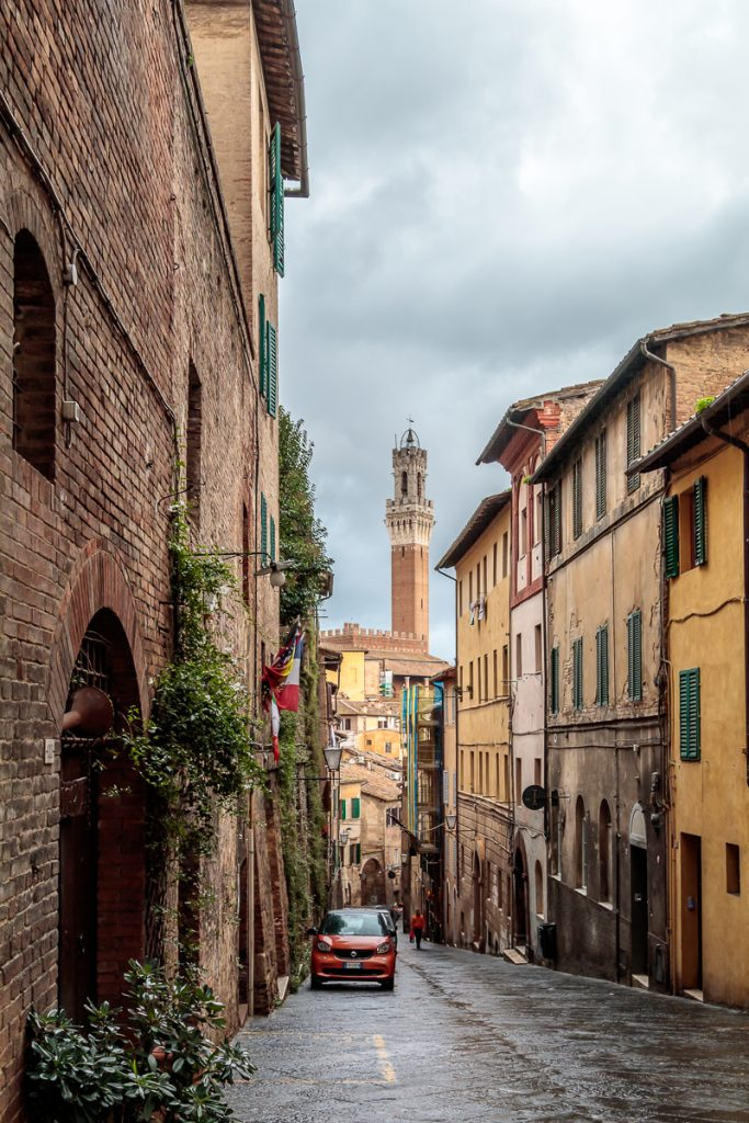 View of Torre del Mangia