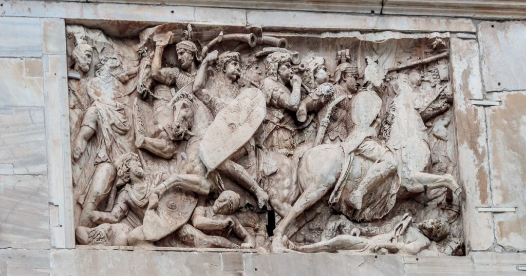 Details in the Arch of Constantine