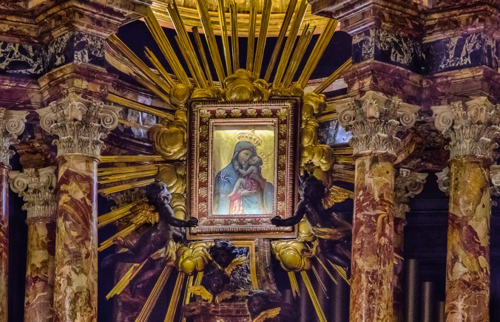 Icon in High Alter of Santa Maria in Traspontina