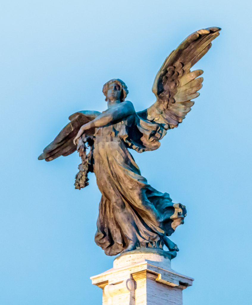 Angel on Ponte Vittorio Emanuele II