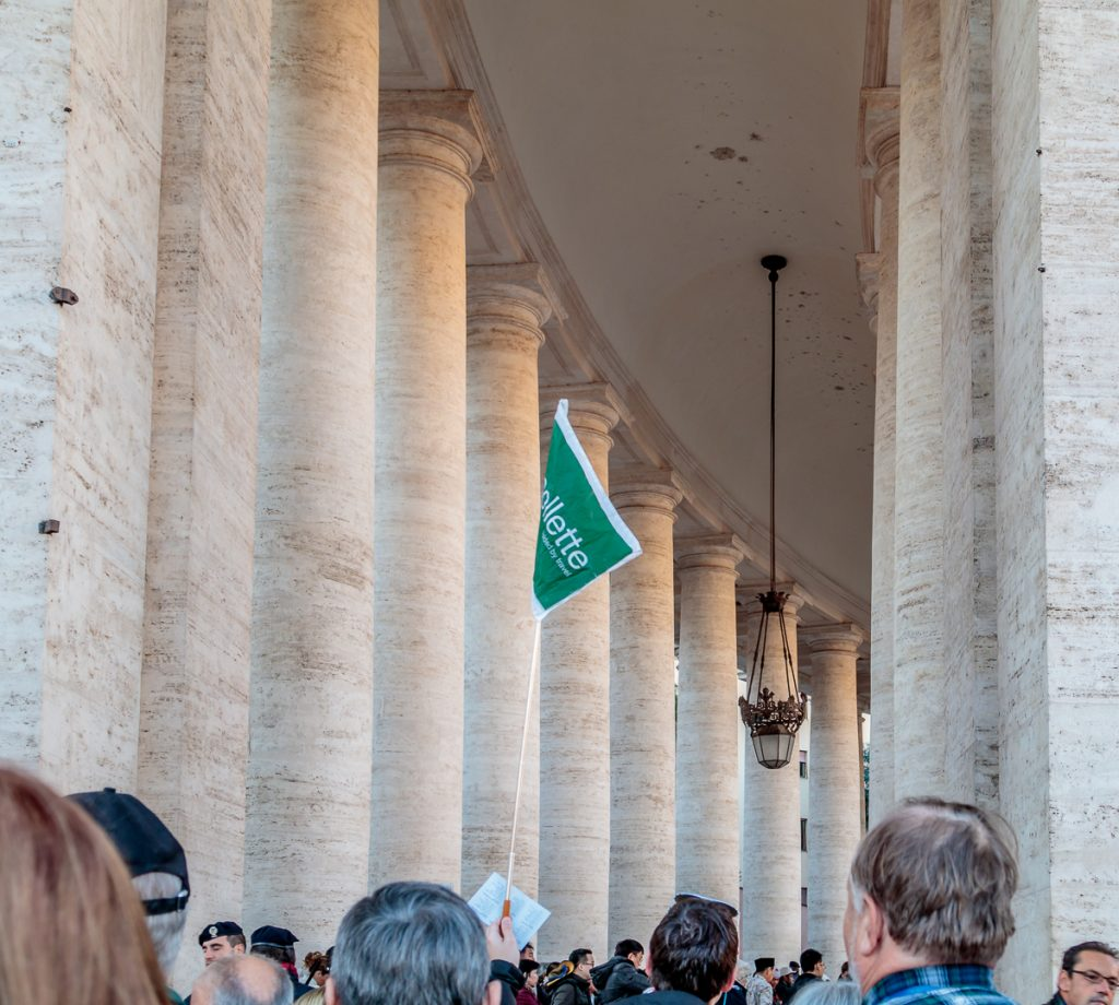 Within the Colonnade
