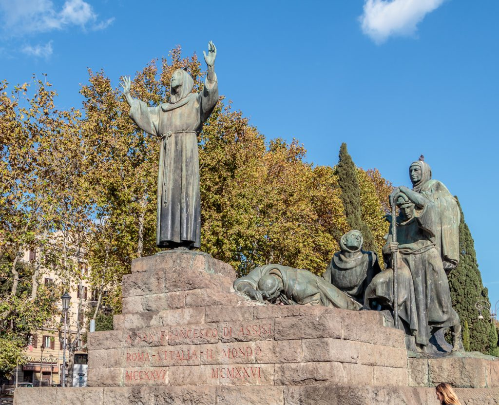 Statue of Saint Francis