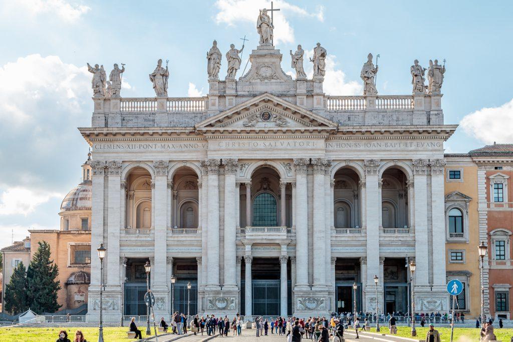 Facade of the Basilica of Saint John Lateran