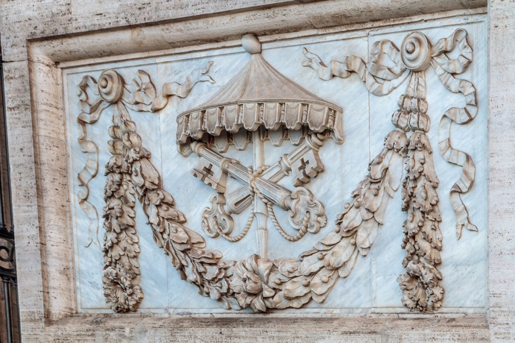 Facade Details - Keys of St. Peter
