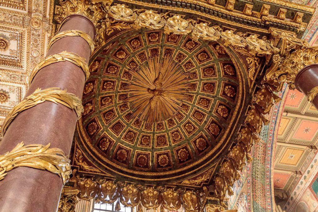 Ceiling of Baldacchino