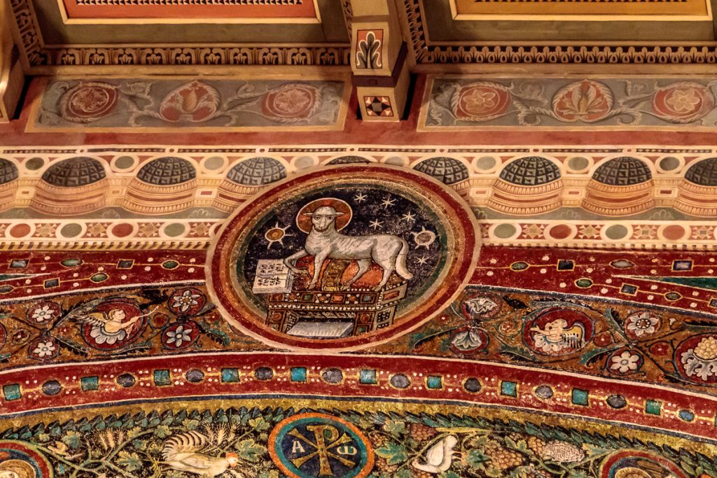 Mosaic from Triumphal Arch