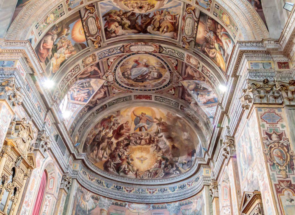 Ceiling in Santo Spirito in Sassia