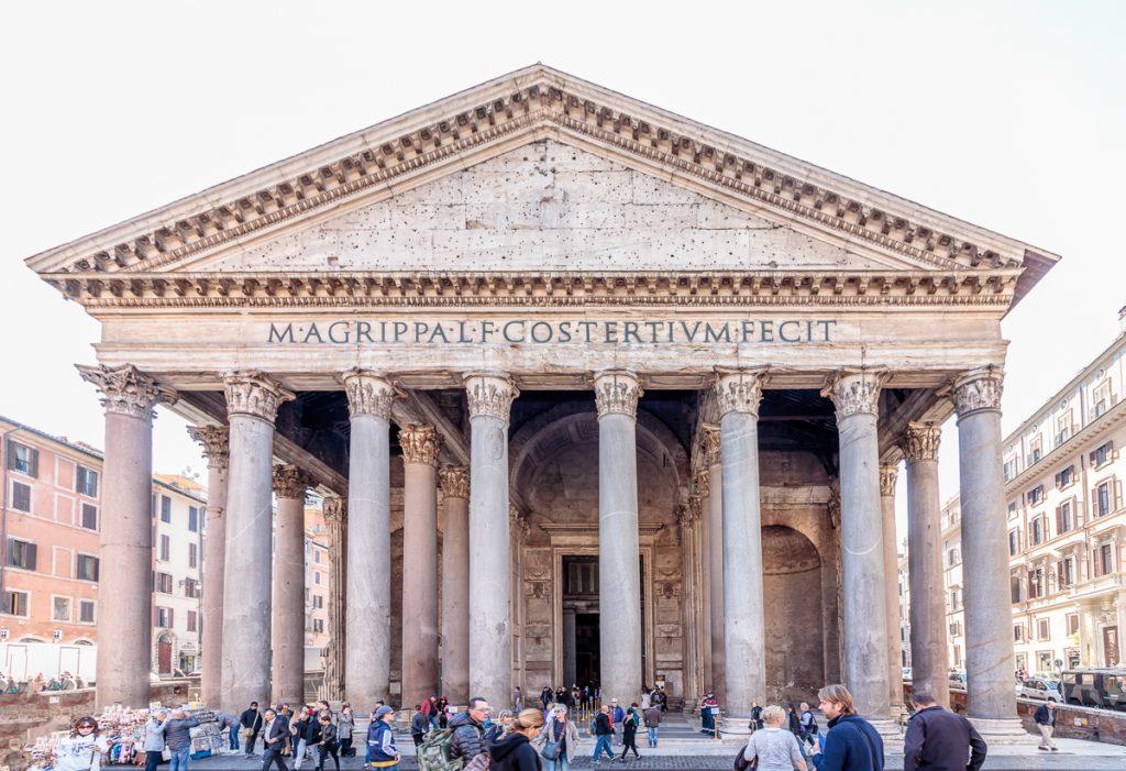 Pantheon Facade