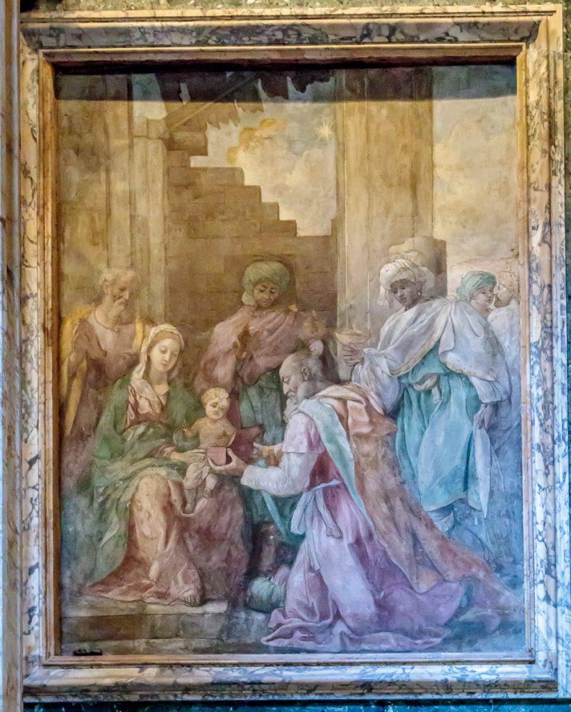 Adoration of the Magi by Francesco Cozza