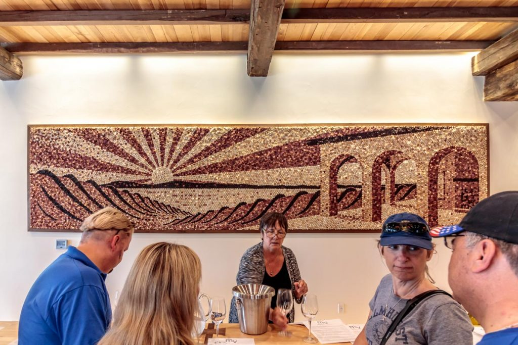 Mari Vineyards - Cork Mosaic