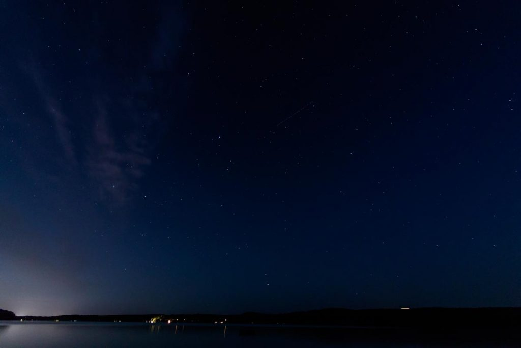 Starry Night - Light Pollution