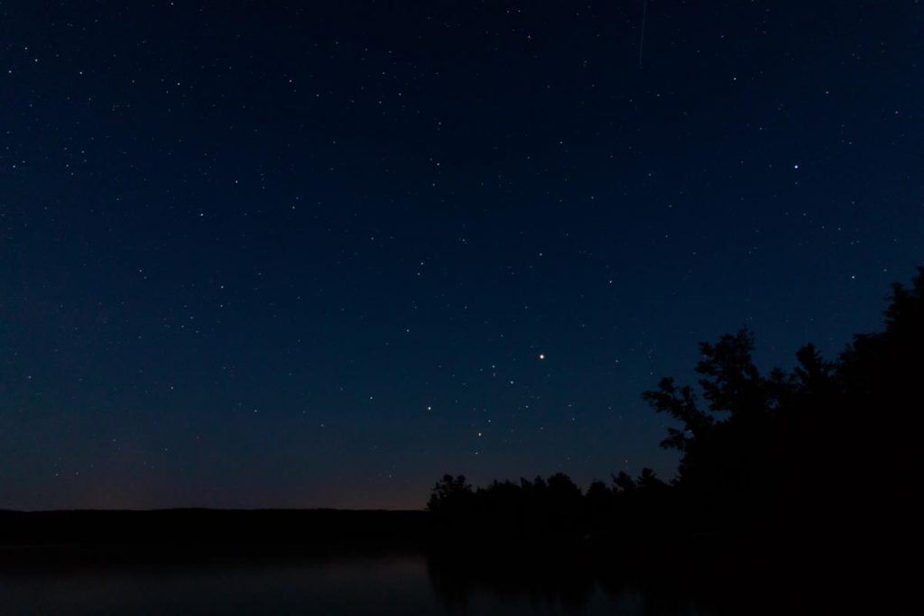 Starry Night - Looking away from Traverse City