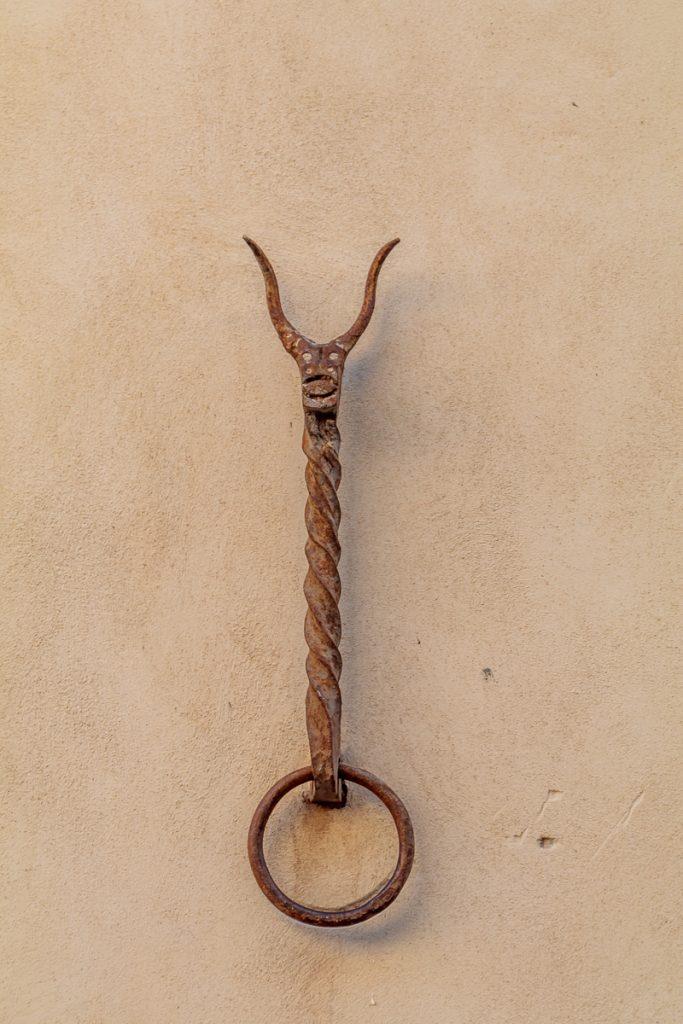 Iron Ring to Tie Horses