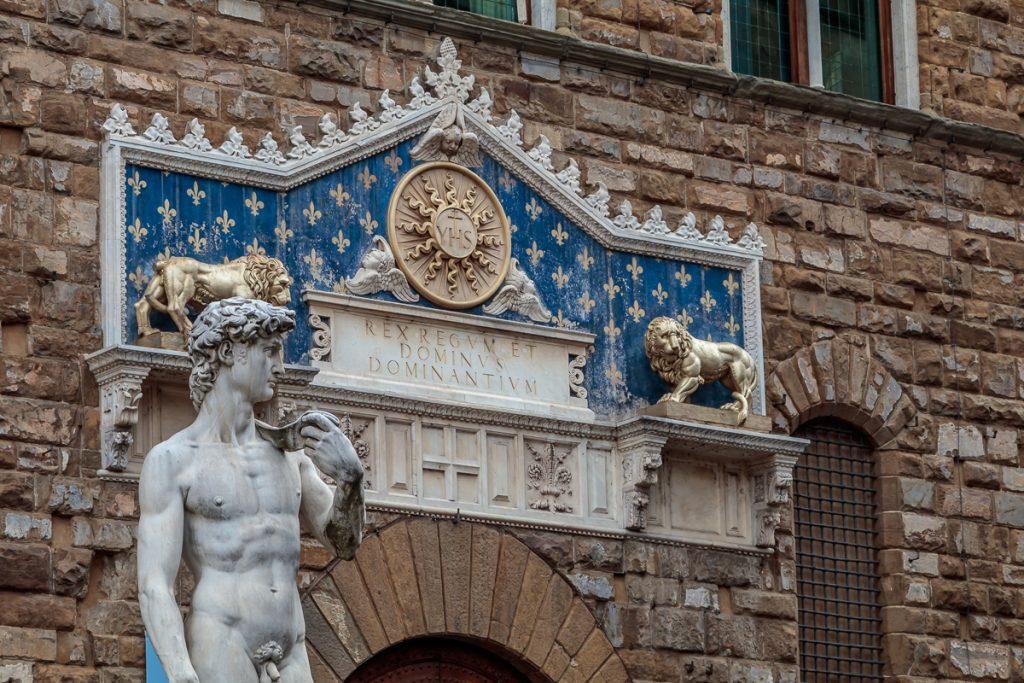 Entrance to Palazzo Vecchio
