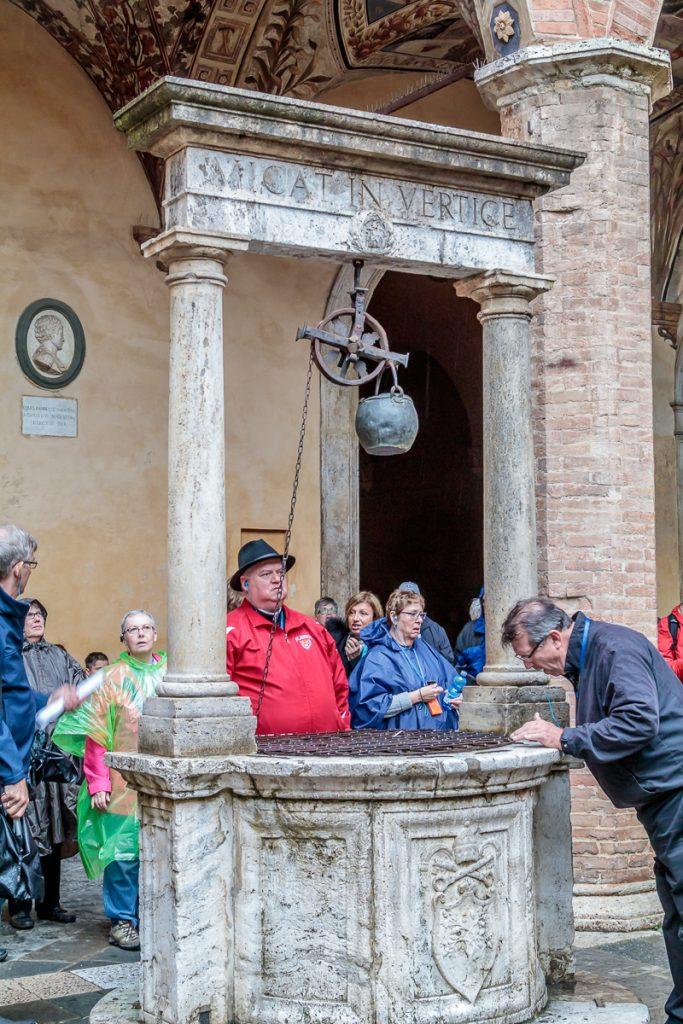 Well at Palazzo Chigi Saracini
