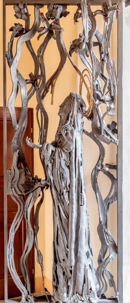 Doors to Courtyard - St. Catherine
