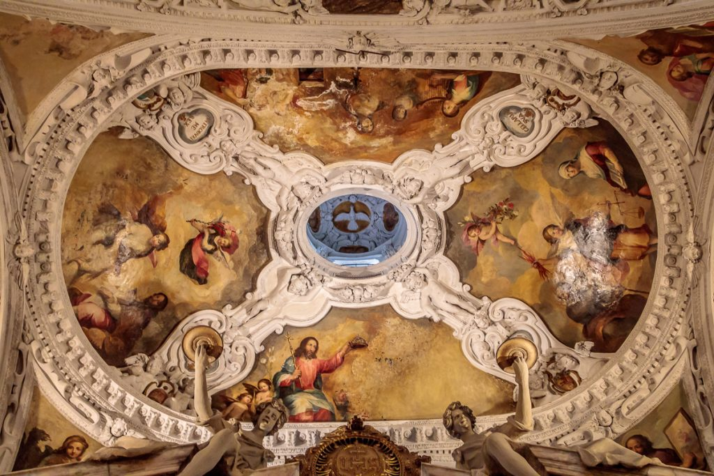 Ceiling of the Gift Shop