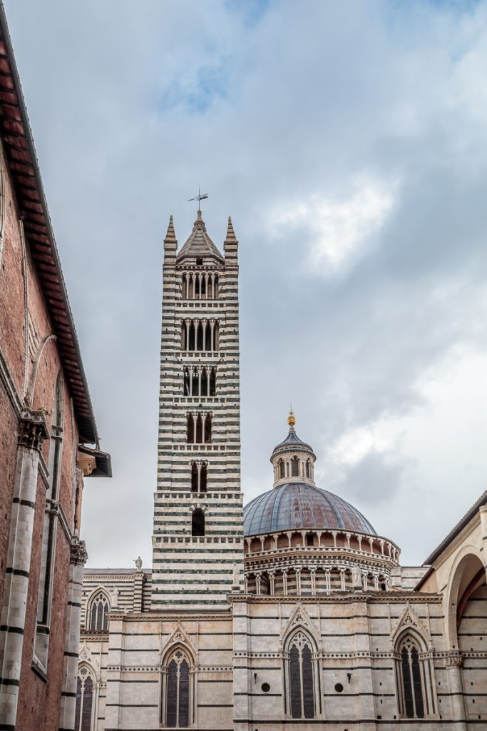 Zebra Stripe Tower of the Duomo