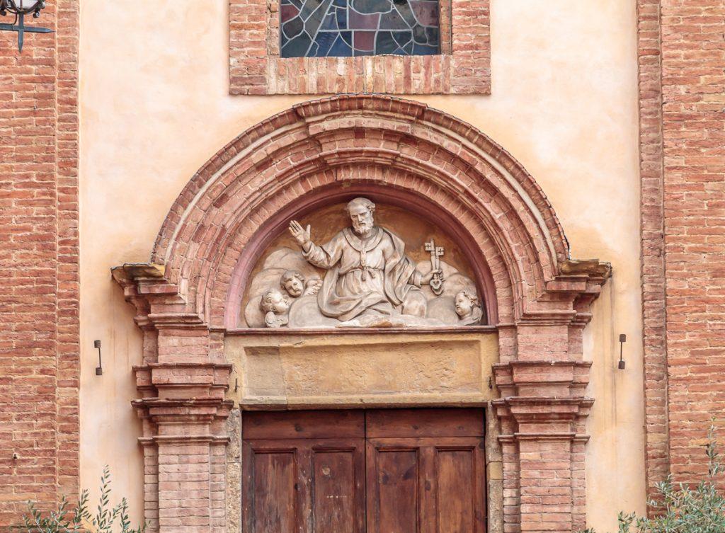 Entrance to San Pietro alle Scale