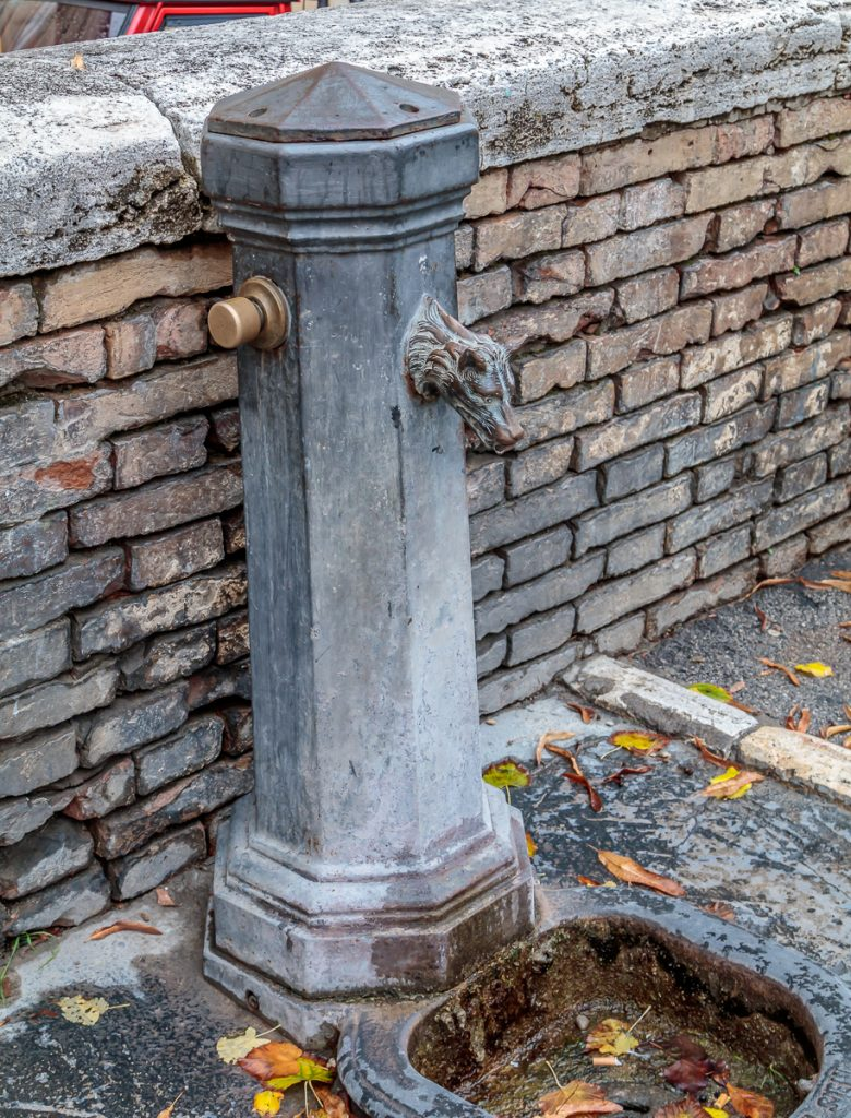 Potable Water Faucet on Street