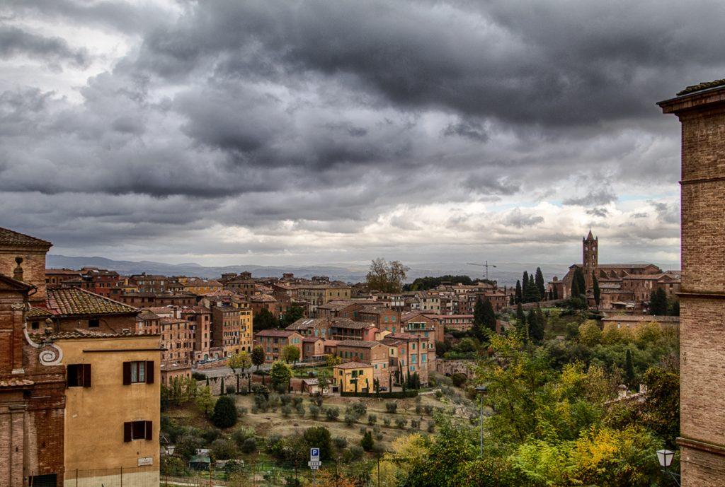 View from Tartucca Contrada La Palio