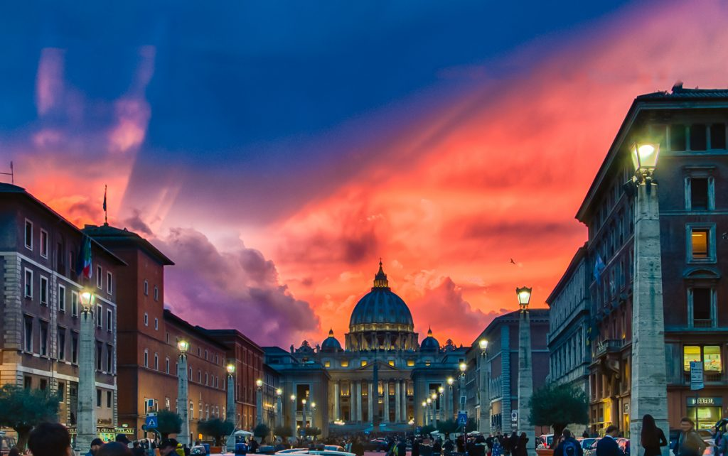 Saint Peter's Sunset