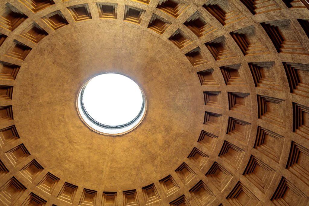 Interior Dome of Pantheon