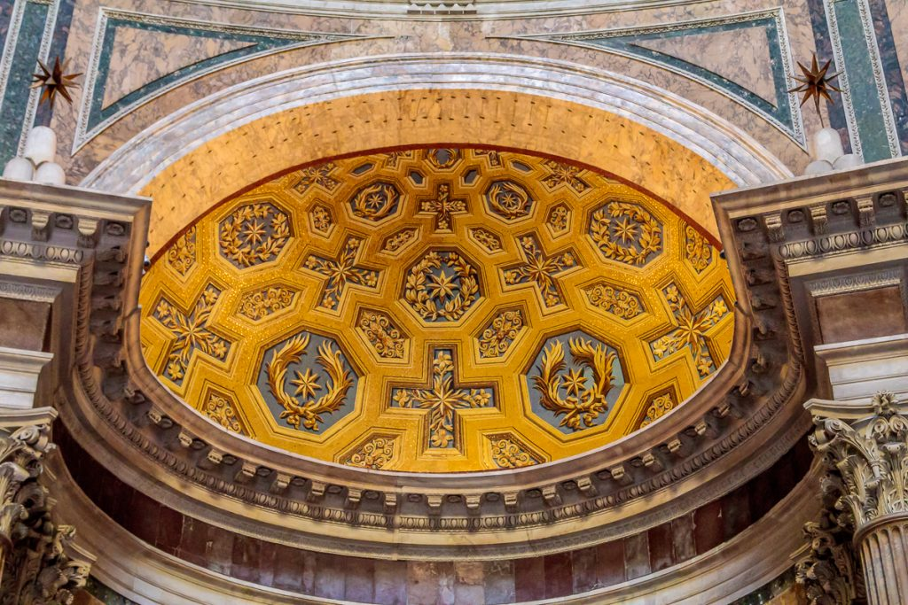 Apse Detail Above Main Alter