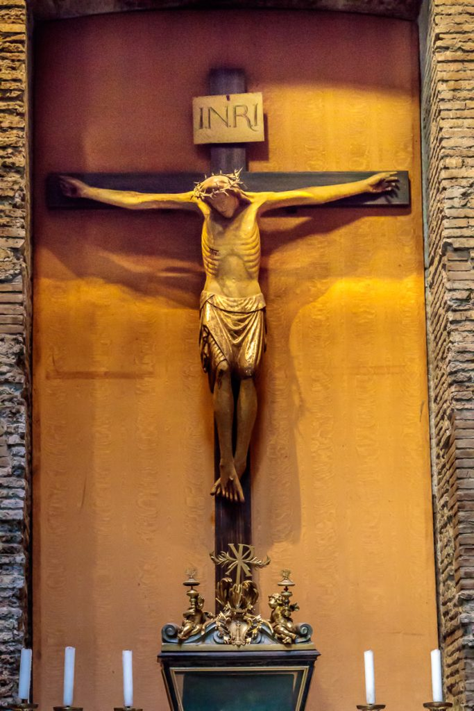 Crucifix from 15th Century