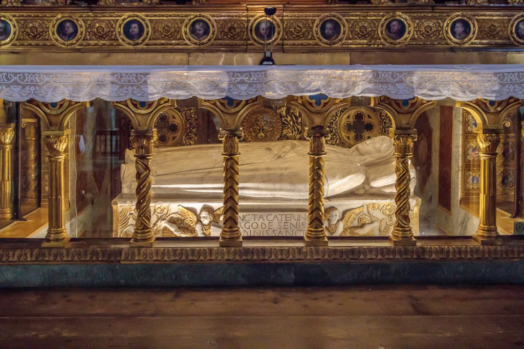 Tomb of St. Catherine of Siena