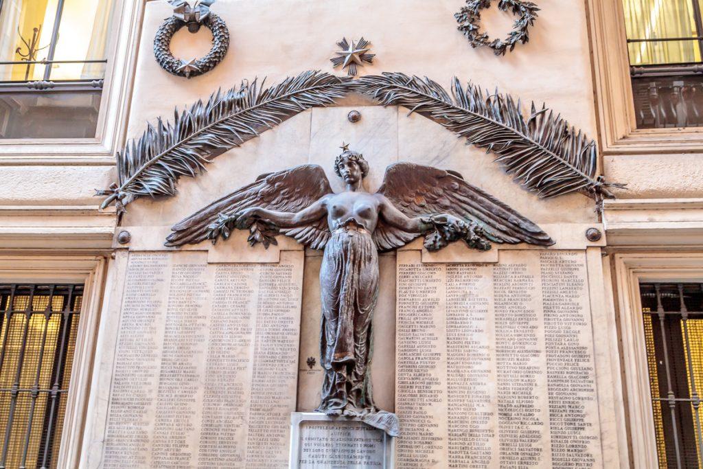 Postal Worker Monument