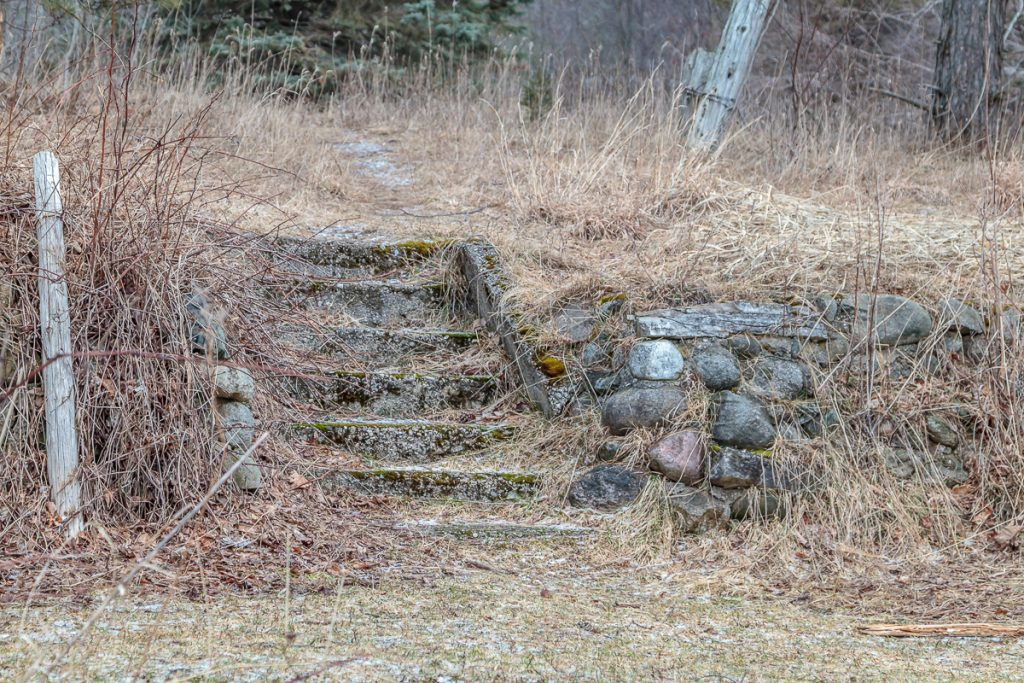 Old Stone Steps to House