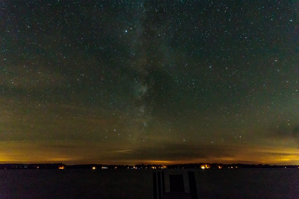 Milky Way over Green Lake