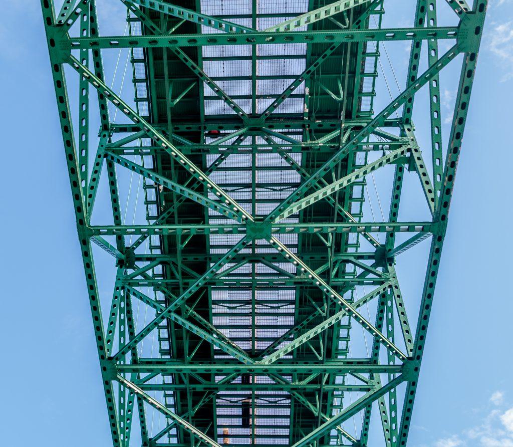 Mackinac Bridge Grating